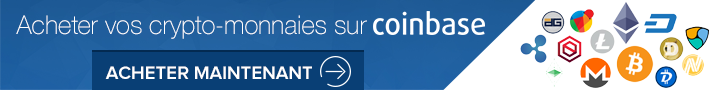 Acheter vos crypto-monnaies sur COINBASE