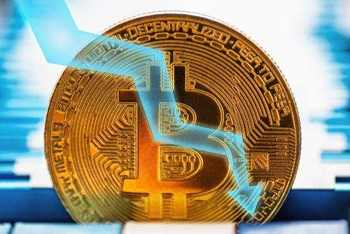 Baisse de Bitcoin