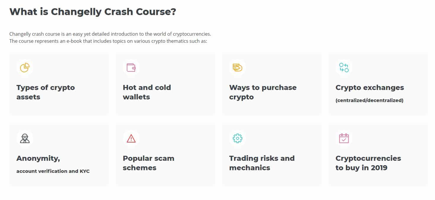 le crash course de Changelly